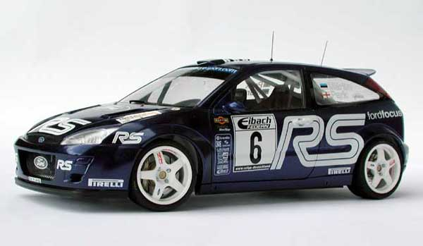 Nissan Ford Focus Rs Wrc 2002 Performance Blue