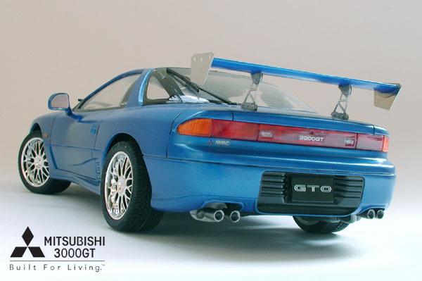 Build A Nissan >> Tamiya - Mitsubishi GTO / GT 3000