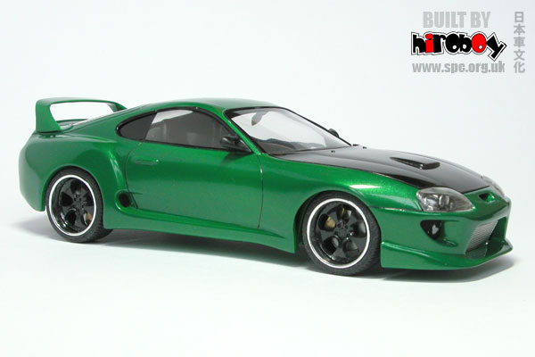 Steve White Vw >> 1:24 Green Toyota Supra
